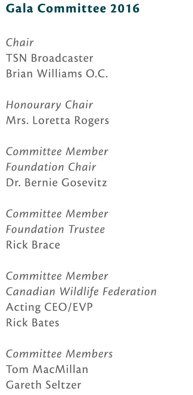 Gala Committee 2016