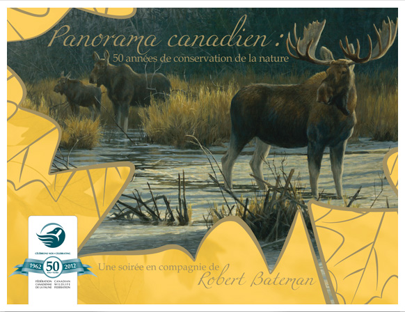Moose painting by Robert Bateman